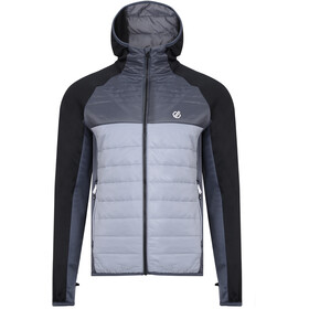 Dare 2b Coordinate Wool Hybrid Jacket Men aluminium grey/black/ebony grey